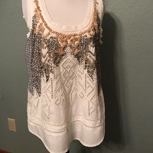 Meadow Rue/ Anthropologie top, size S
